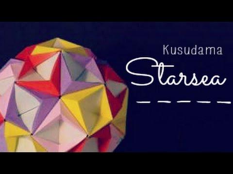 Photo of Origami Ball / Kusudama Starsea