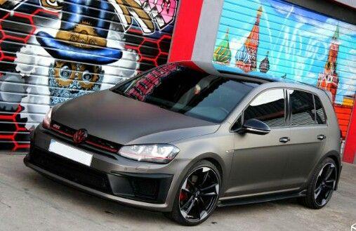 7 colours golf vw Volkswagen Golf