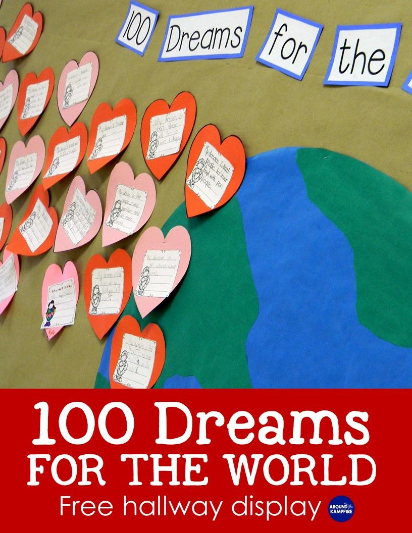 All-In-One MLK Day, Valentine's Day & 100th Day Bulletin ...