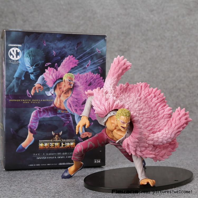 $24.99 (Buy here: https://alitems.com/g/1e8d114494ebda23ff8b16525dc3e8/?i=5&ulp=https%3A%2F%2Fwww.aliexpress.com%2Fitem%2FAnime-One-Piece-Decisive-Battle-Version-Donquixote-Doflamingo-PVC-Figure-Toy-PVC-Action-Figure-Collection-Model%2F32695250768.html ) Anime One Piece Decisive Battle Version Donquixote Doflamingo PVC Figure Toy PVC Action Figure Collection Model Toy 17cm OPFG509 for just $24.99