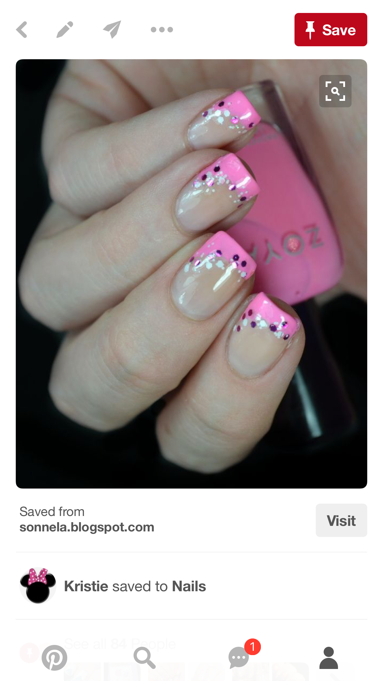 Pin by kristie mcbride on nails pinterest