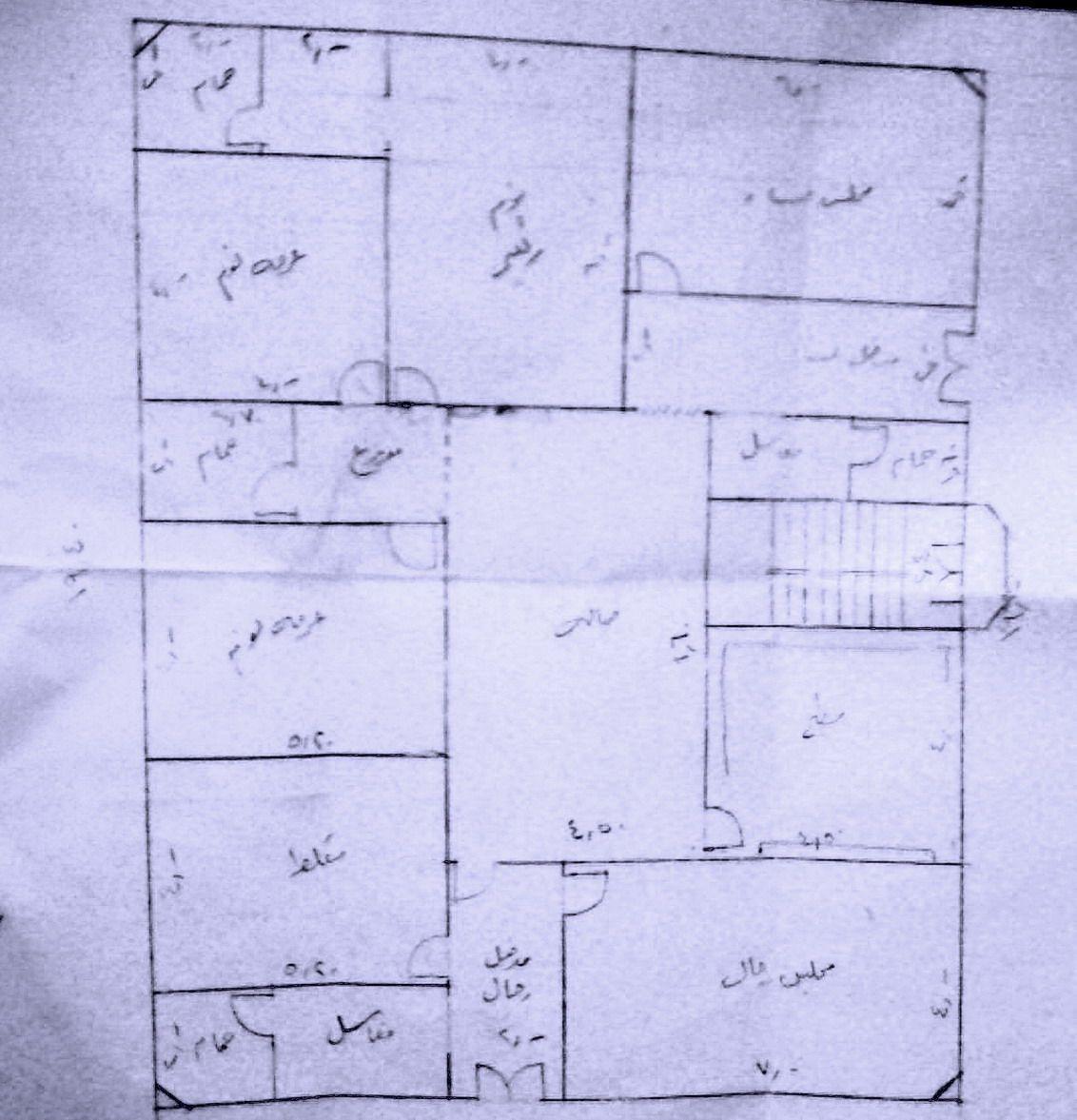 اليكم مخطط لمنزلي ويبقى اخذ الرأي منكم Model House Plan Family House Plans New House Plans