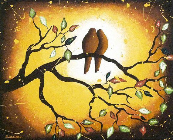 Vintage Love Bird Clip Art | Vintage Style Bird Art, Wall Art ...
