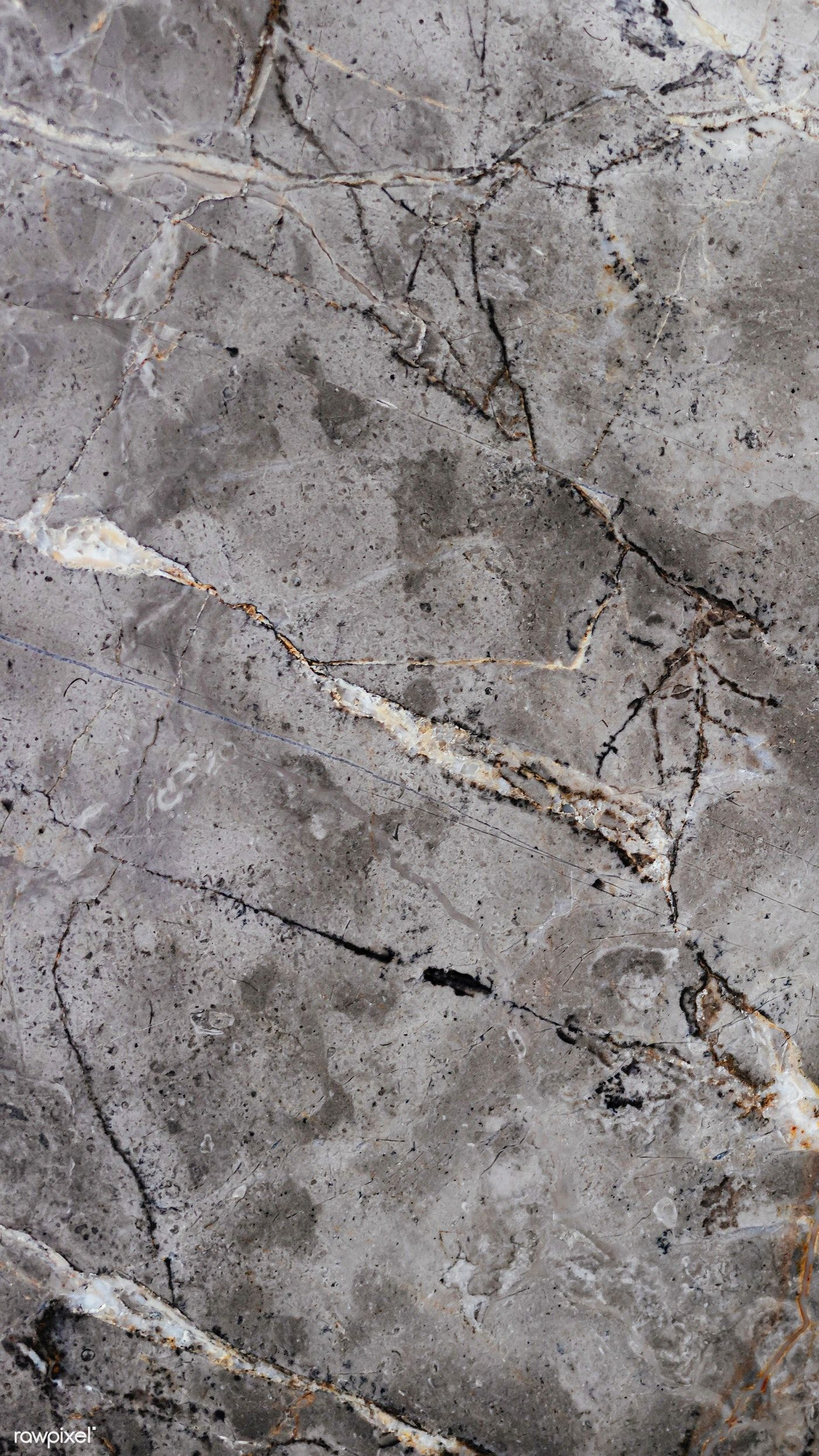 Download premium image of Rough gray marble texture with streaks mobile