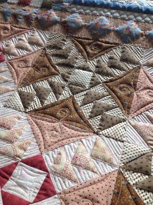 Urban Quiltworks Modern Custom Quilt Farmers Market Quilt