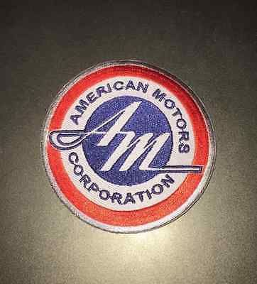 Amc Amcrc American Motors Corporation Logo Patch Iron On Jacket