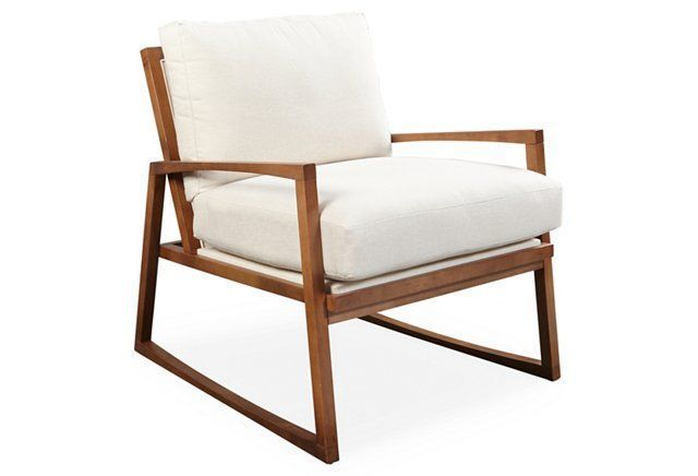 Canelo Accent Chair, Cream