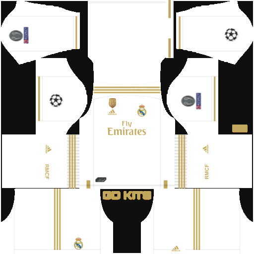 Kits Real Madrid Uefa Champions League 2019 2020 Dls Fts 15 Get The Real Madrid Uefa Champions Leagu Uniformes De Futbol Uniformes Soccer Camisetas De Futbol