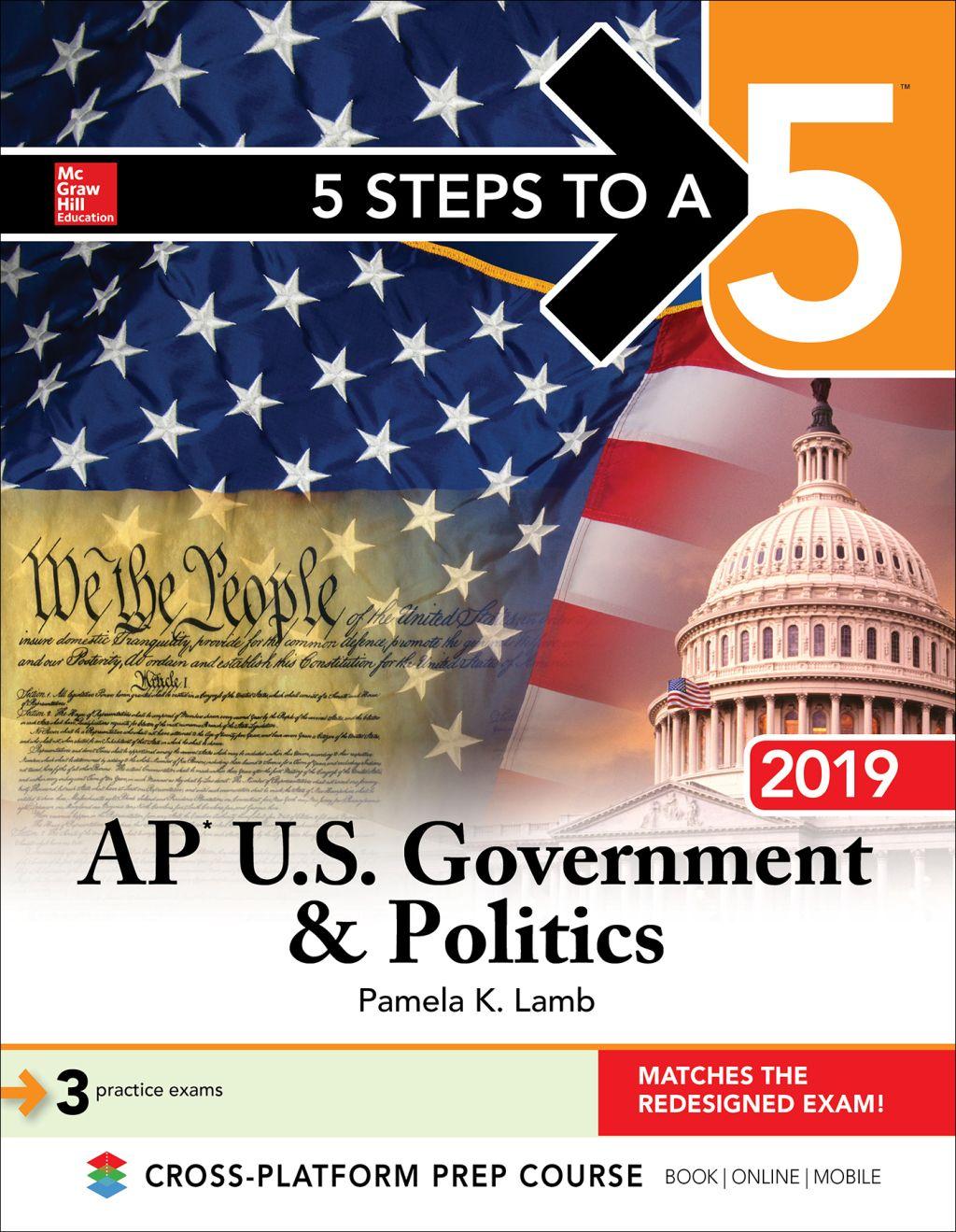 5 Steps To A 5 Ap U S Government Politics 2019 Ebook