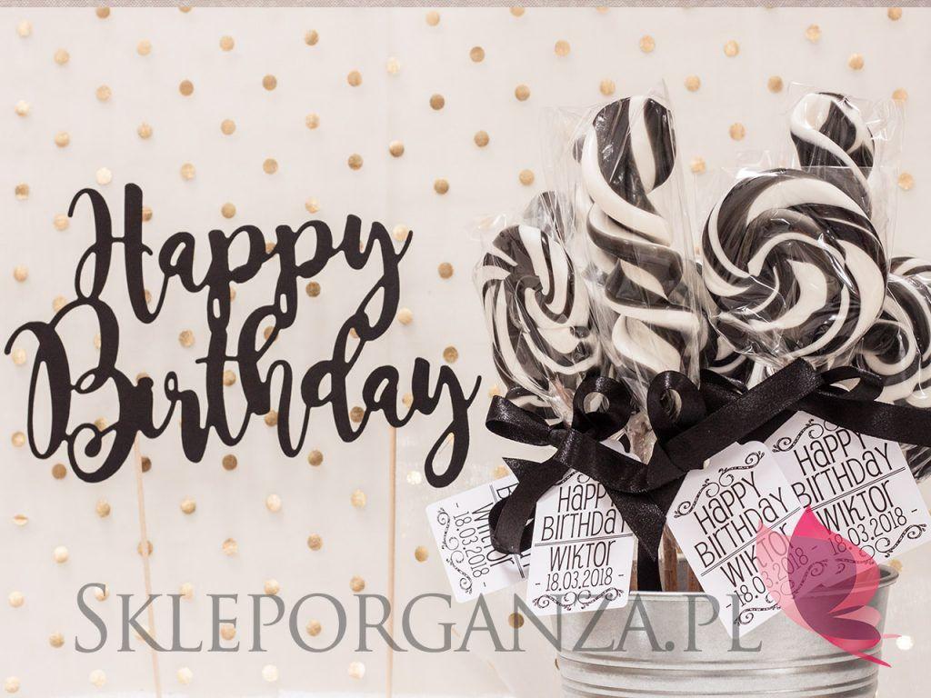 Urodzinowe Lizaki Na Przyjecie Wiktora Birthday Happy