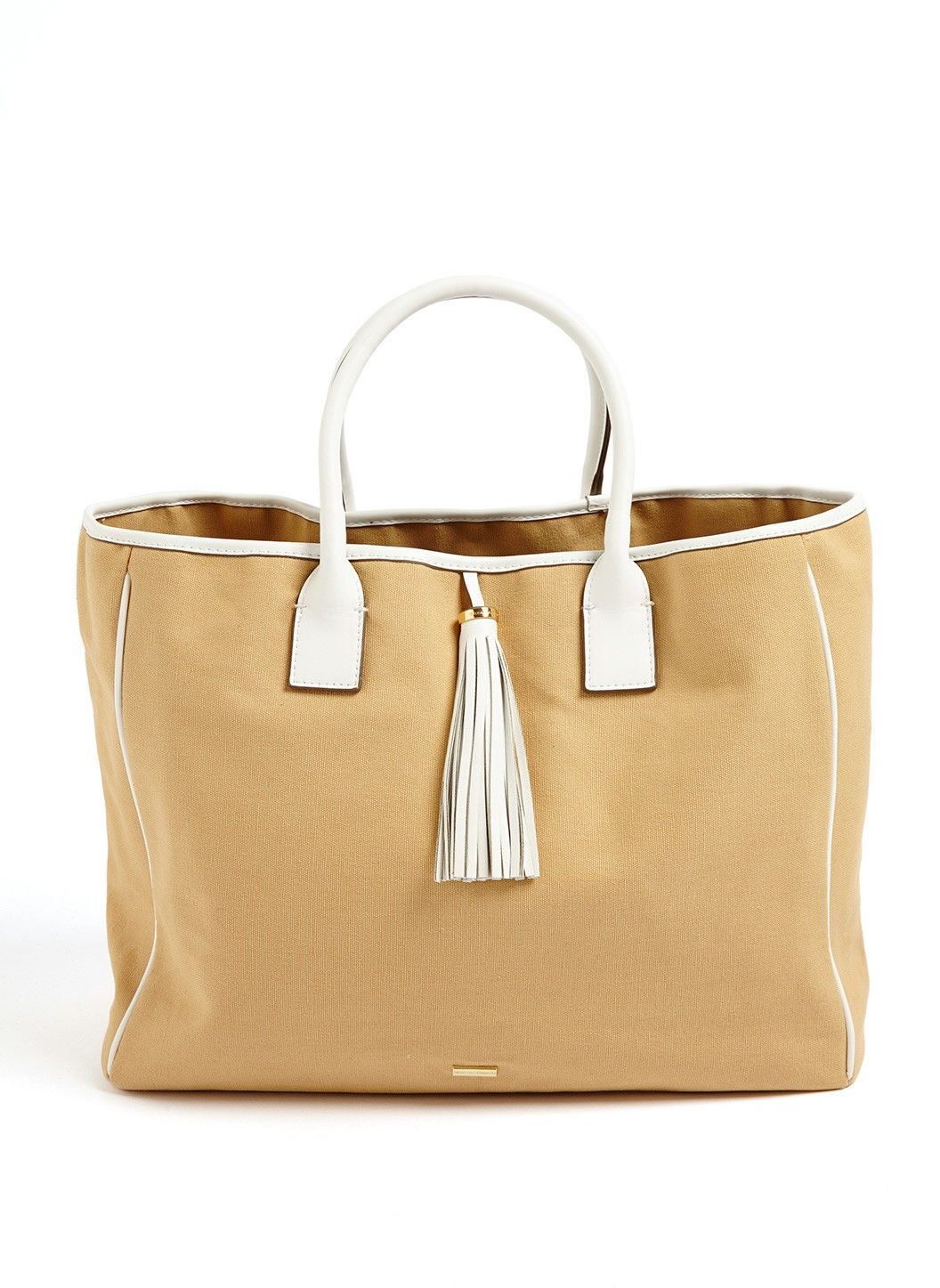 Barbados tote beige fall inspiration pinterest