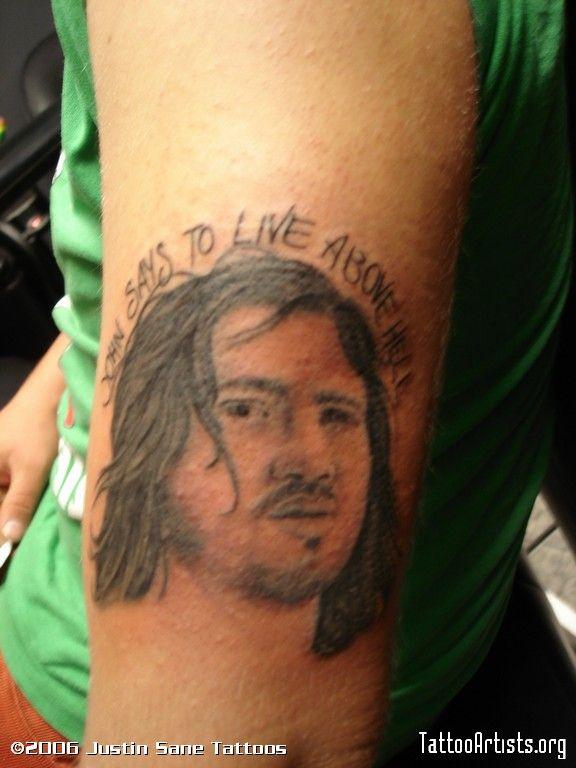 Pin on John Frusciante Tattoo