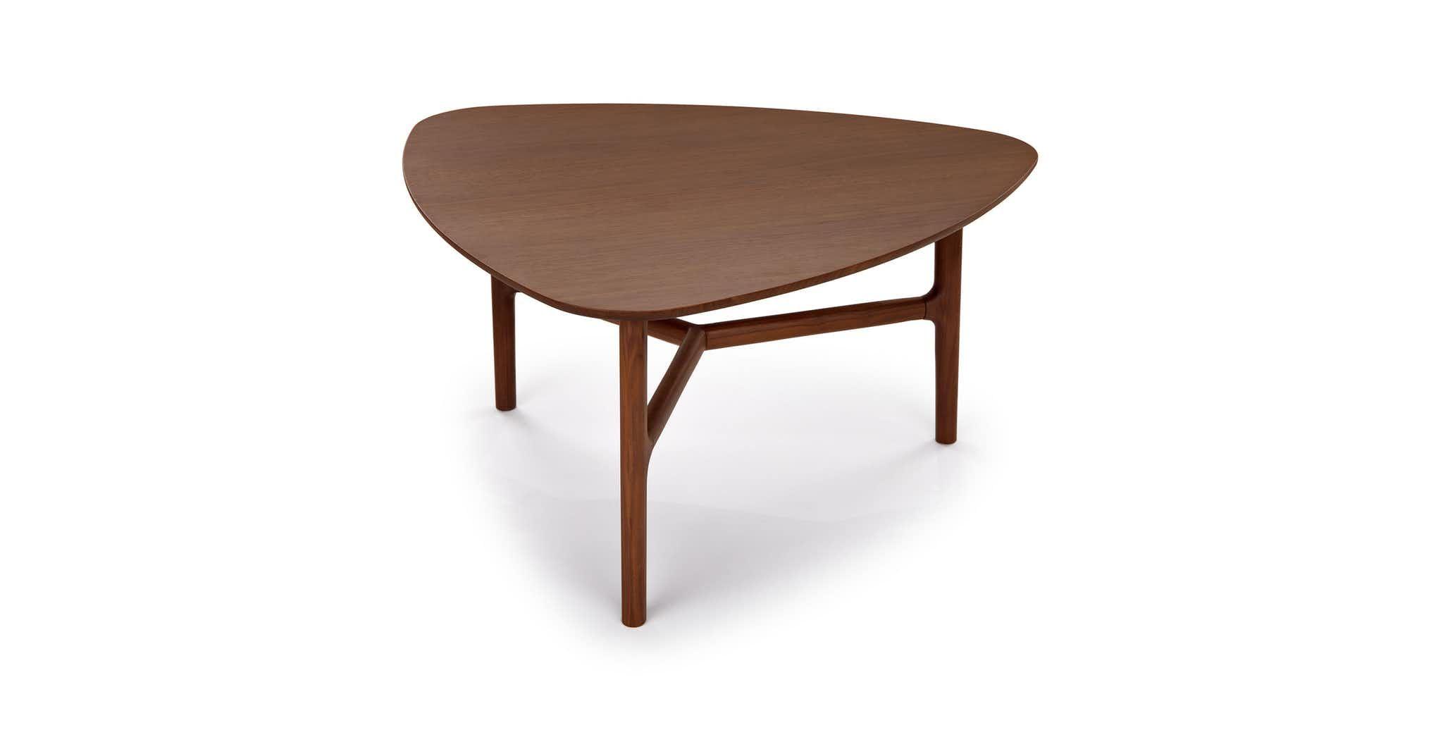 Brezza Matte Walnut Triangular Coffee Table In 2021 Coffee Table Table Modern Coffee Tables [ jpg ]