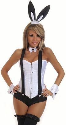 bunny costume playboy costume sexy bunny costume - Halloween Costumes Playboy
