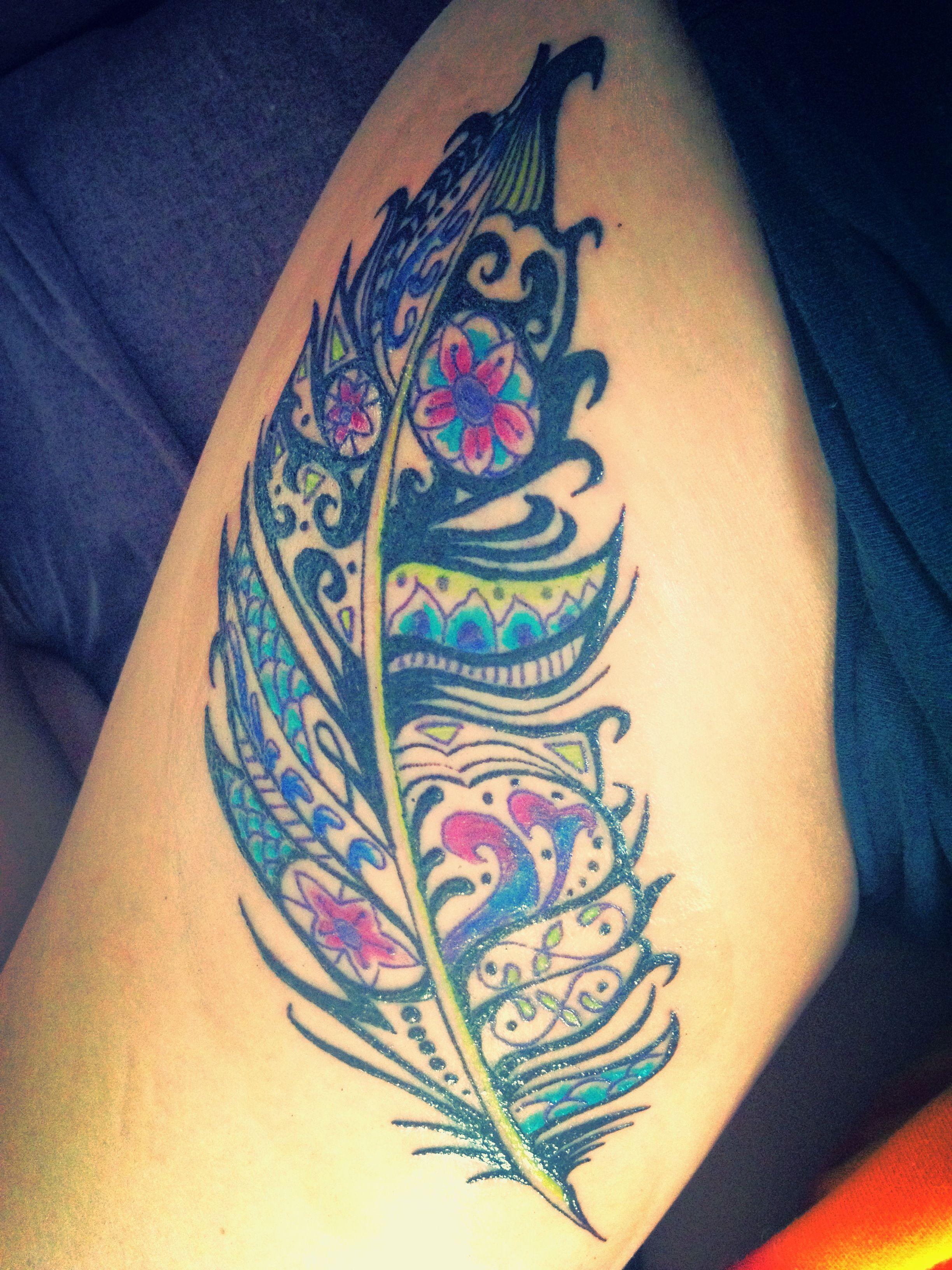 12 Feather Tattoo Designs You Won T Miss Tattoos Pinterest