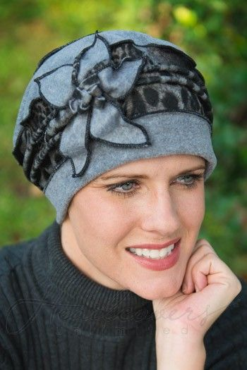a9c791dfeae Fleece Giselle hat--soft warm hats for cancer patients