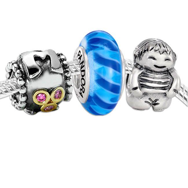 pandora jewelry baby boy charm