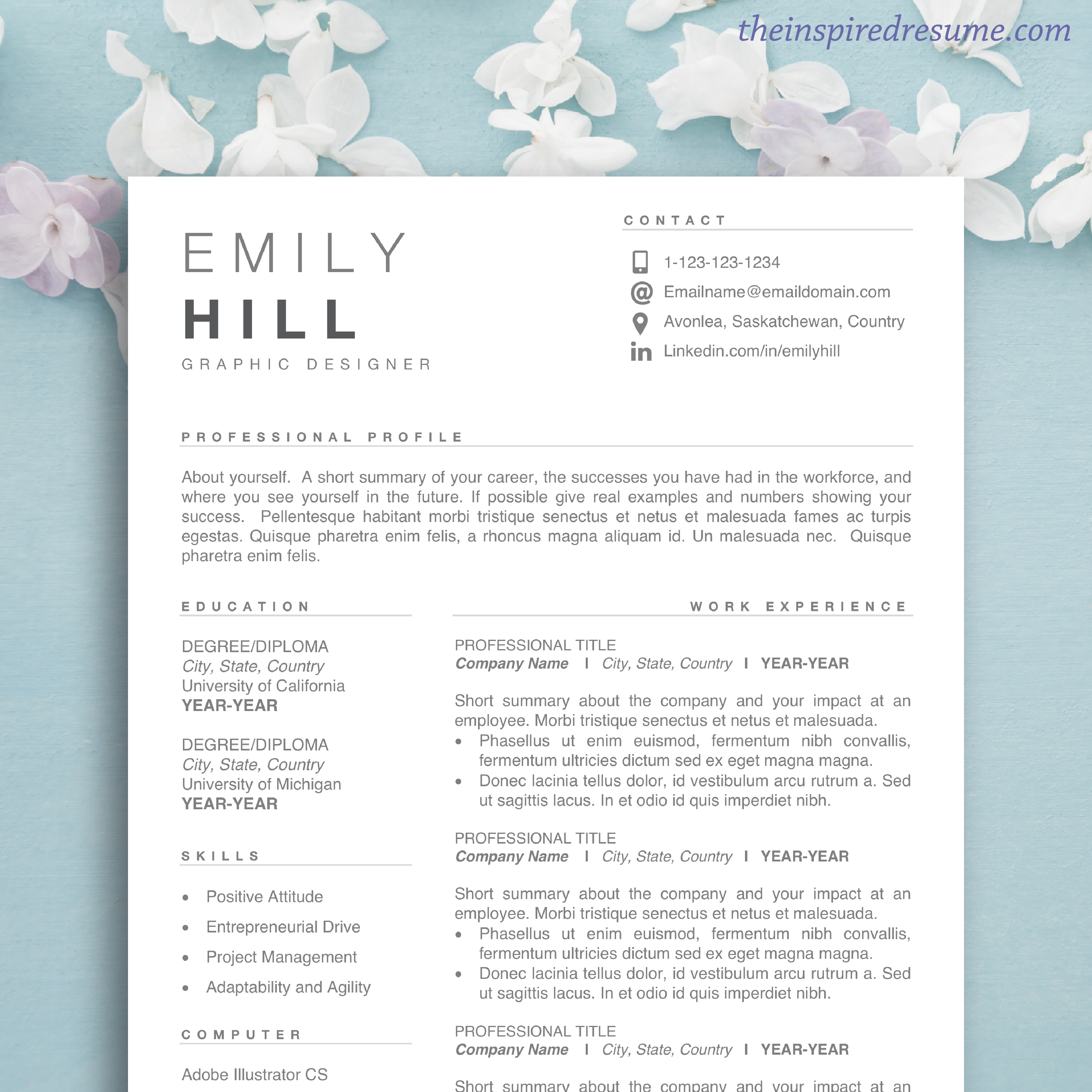 best resume template for word  u0026 mac pages