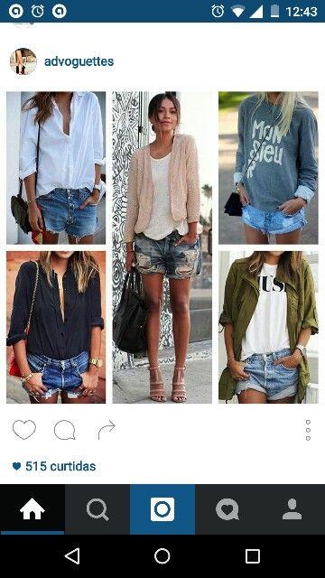 Short + camisa