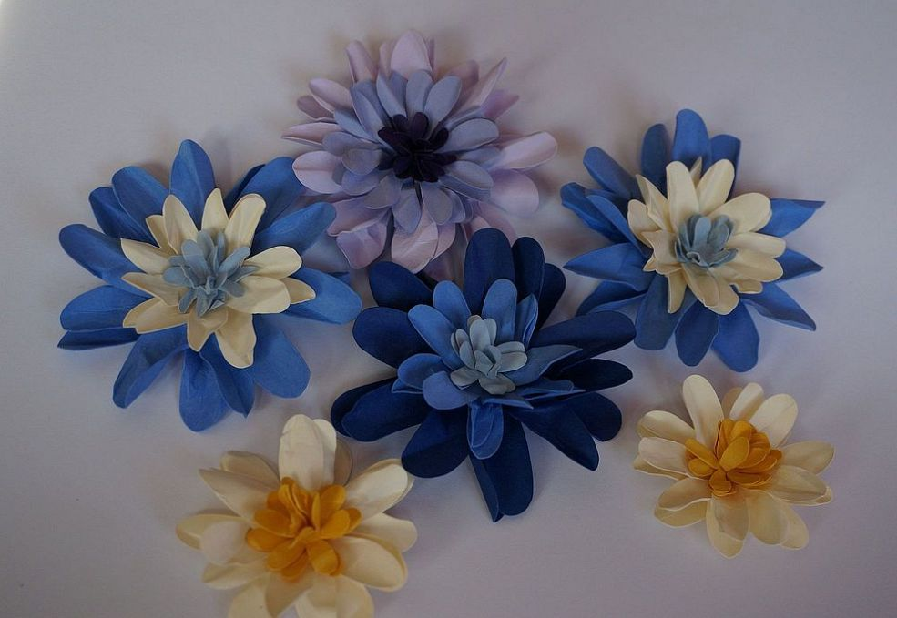 Paper Flowers for Many Uses