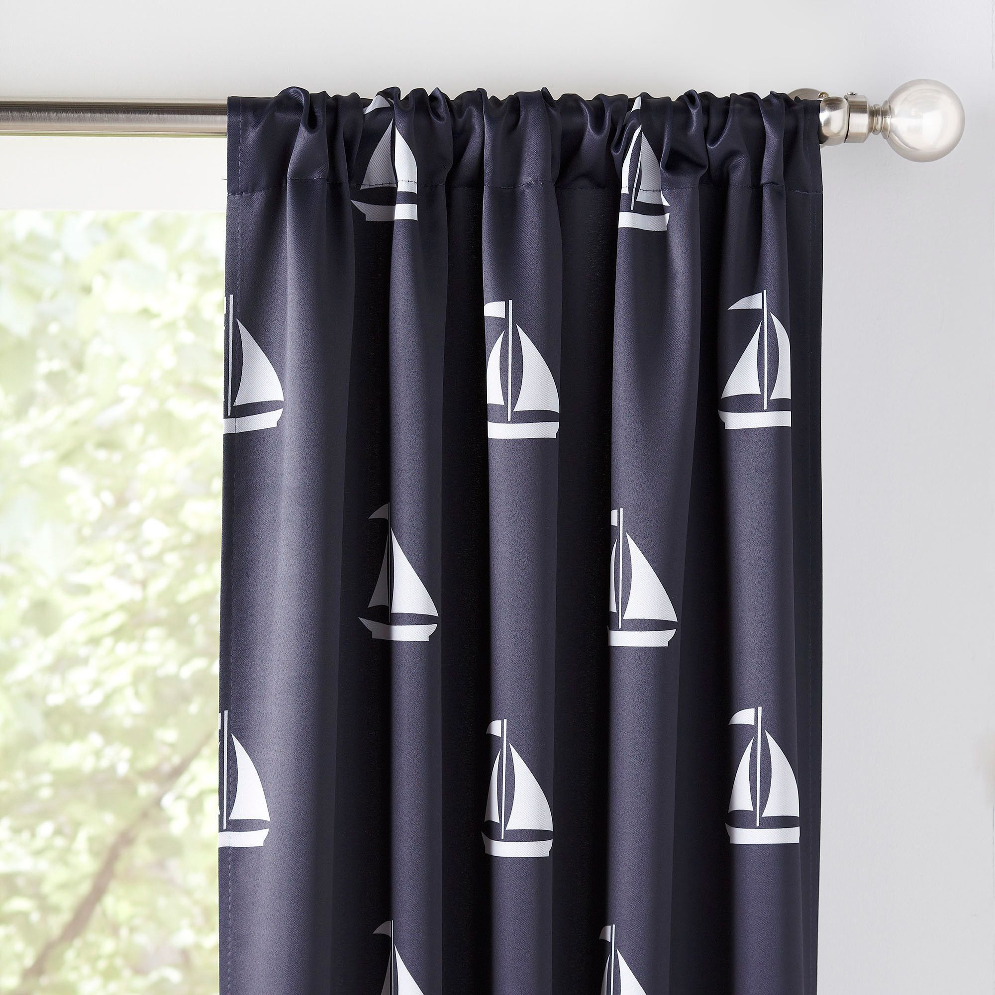 velvet print separation red royal curtains best nautical toile blackout blue room