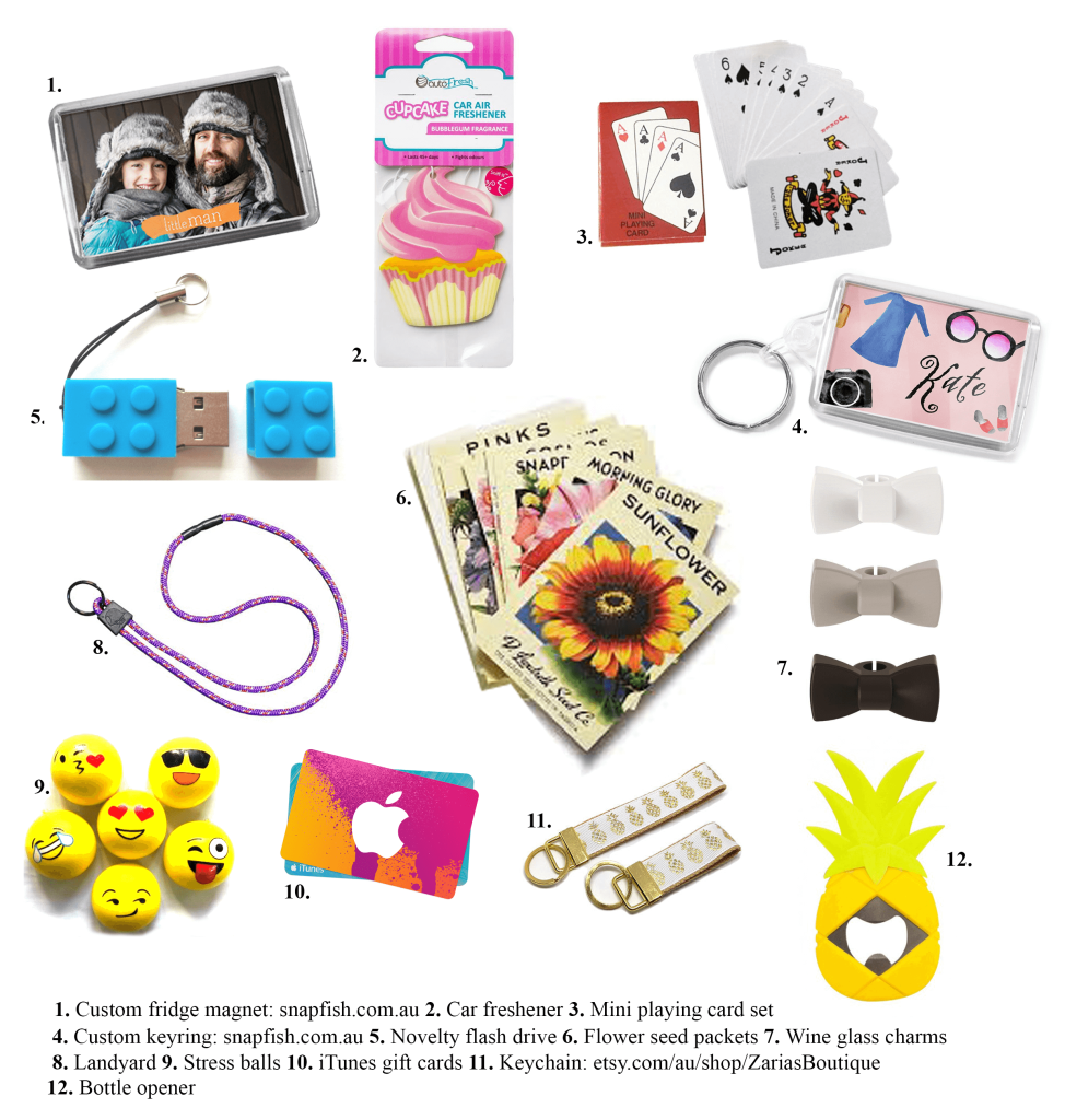 what to put in gift bags for birthday parties