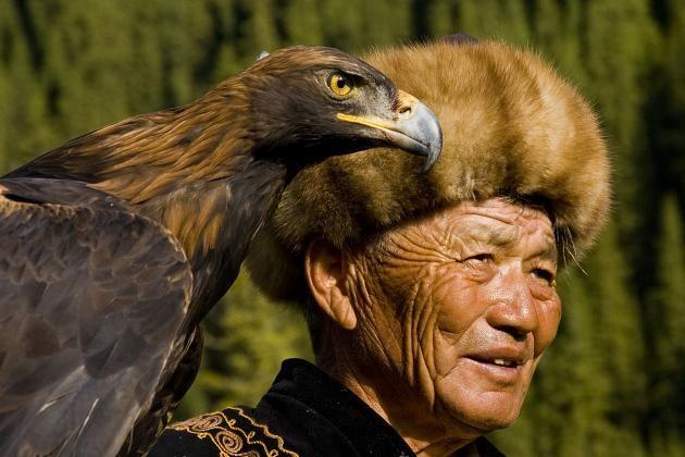 Ørnemannen i Kirgisistan