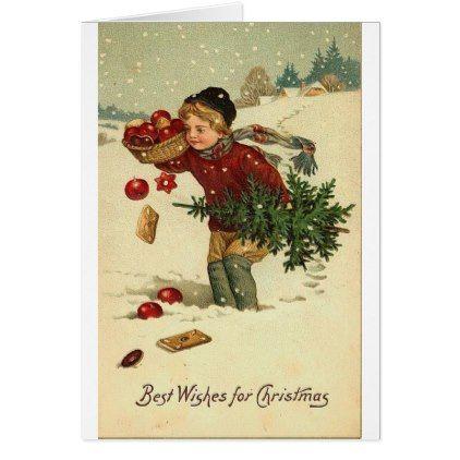 Victorian Christmas Vintage Retro Art Card Christmas Cards Merry Xmas Diy Cyo Greetings Antique Christmas Cards Vintage Christmas Vintage Christmas Gifts