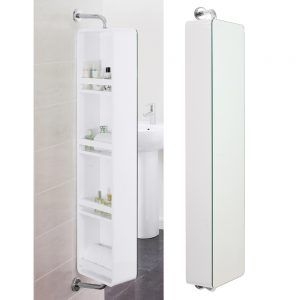 Bathroom Cabinet With Swivel Mirror Http Smallthingsconsidered Info Pinterest Cabinetirror