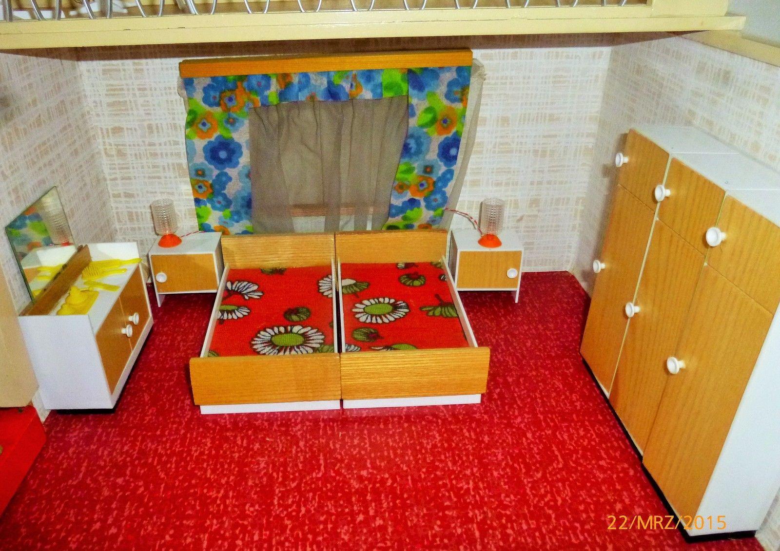DDR Puppenstub 70er Jahre,Schlafzimmer *** genau so war mein ...
