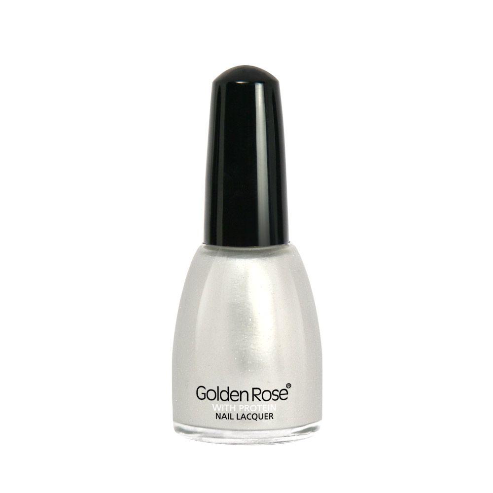 Esmalte Golden Rose con proteinas.  Protege tus uñas con su compuesto de proteinas.  Secado super rápido y con una variedad de más de 90 colores.   3,50 €.