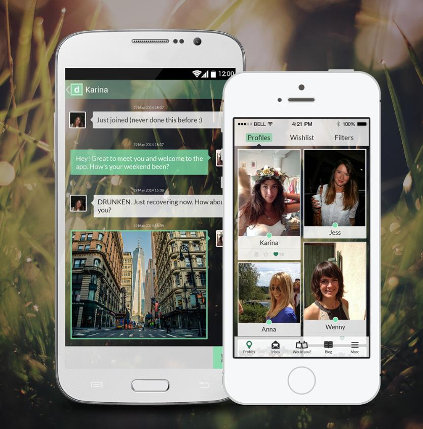 PinterestInspired Lesbian Dating App Dattch Finally