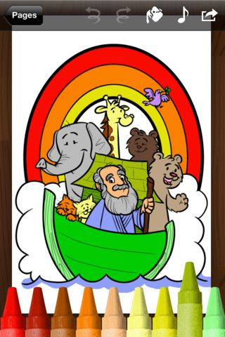 Bible Coloring Book (iPad and iPod) Coloring apps are great for ...