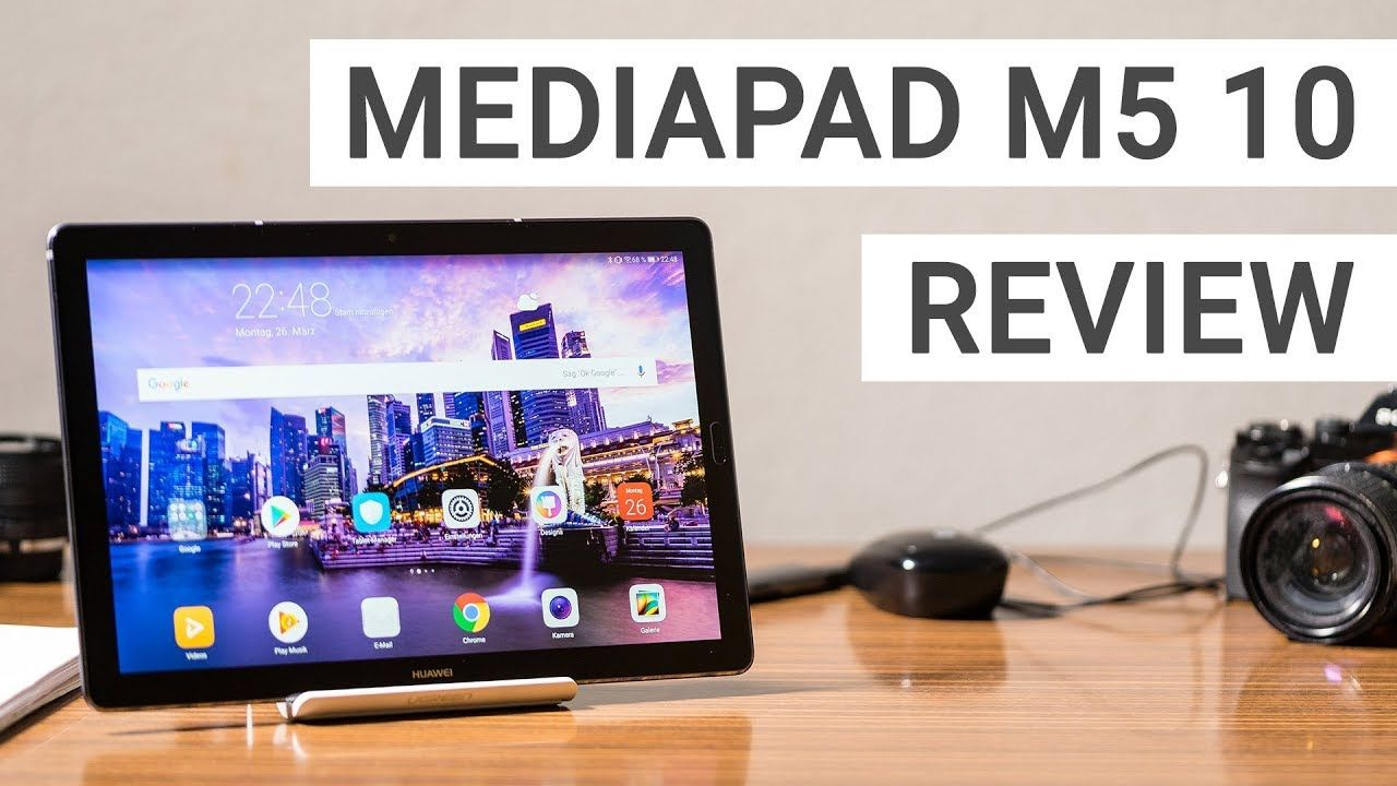 Huawei Mediapad M5 10 Review The Best Android Tablet In 2018 Tablette
