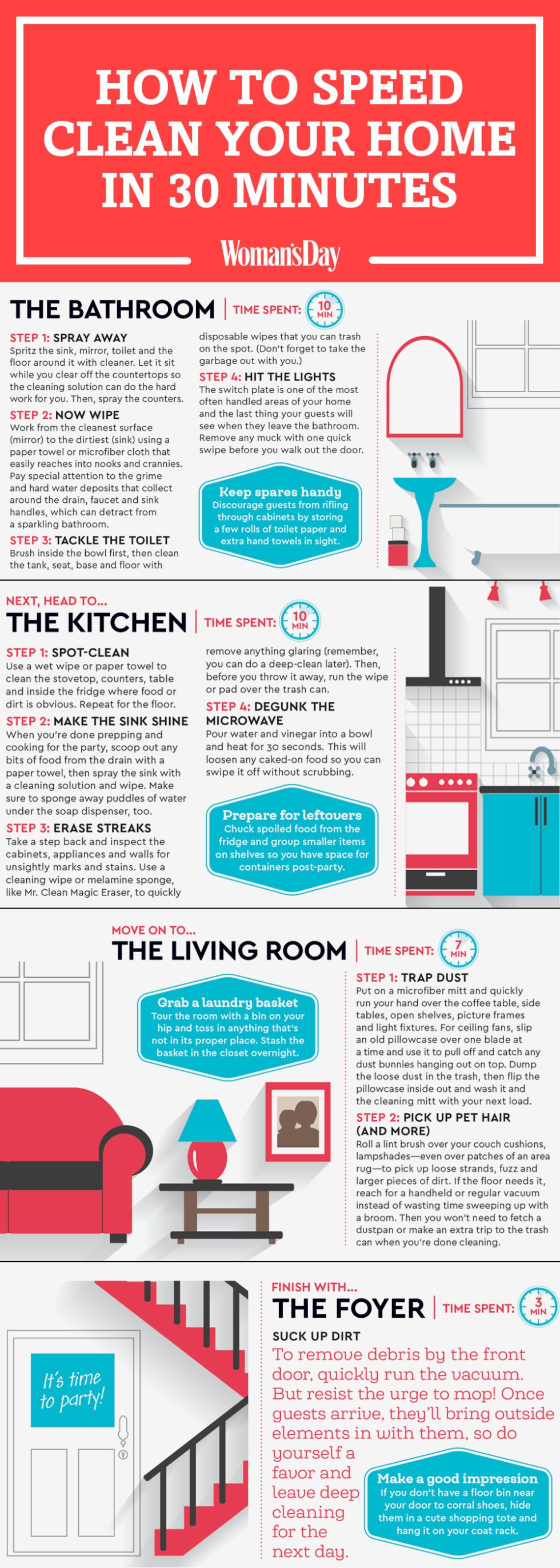Here S How To Clean Your House In Under 30 Minutes