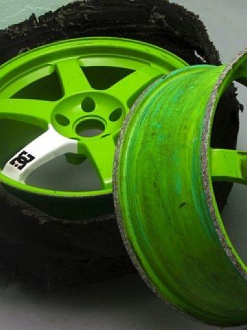 DC Wheels Ken Block Shredded Tires. Ken BlockMonster EnergyTired