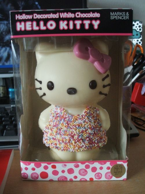 Chocolate hello kitty what a cute gift for hk lovers sweets what a cute gift for hk lovers negle Image collections