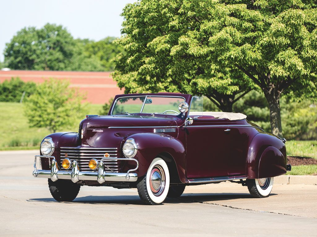 1940 Chrysler Windsor Convertible Coupe