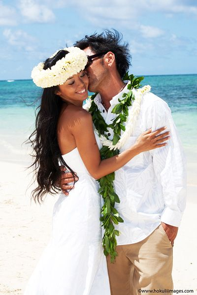 Pin By Kauai Vacation Rentals On Hau Oli Happy In Hawaiian Hawaiian Wedding Hawaii Wedding Photography Hawaiian Wedding Flowers