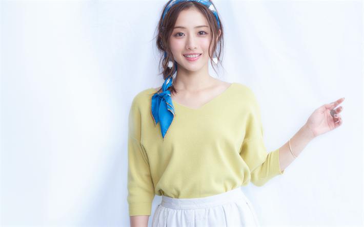 Download wallpapers Satomi Ishihara, beauty, japanese actress ...