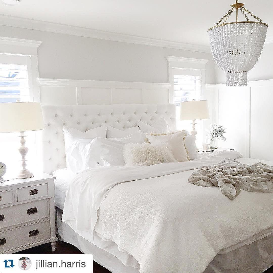 What A Beautiful Bedroom By Jillian Harris!!! If You Love Her Bedside Table