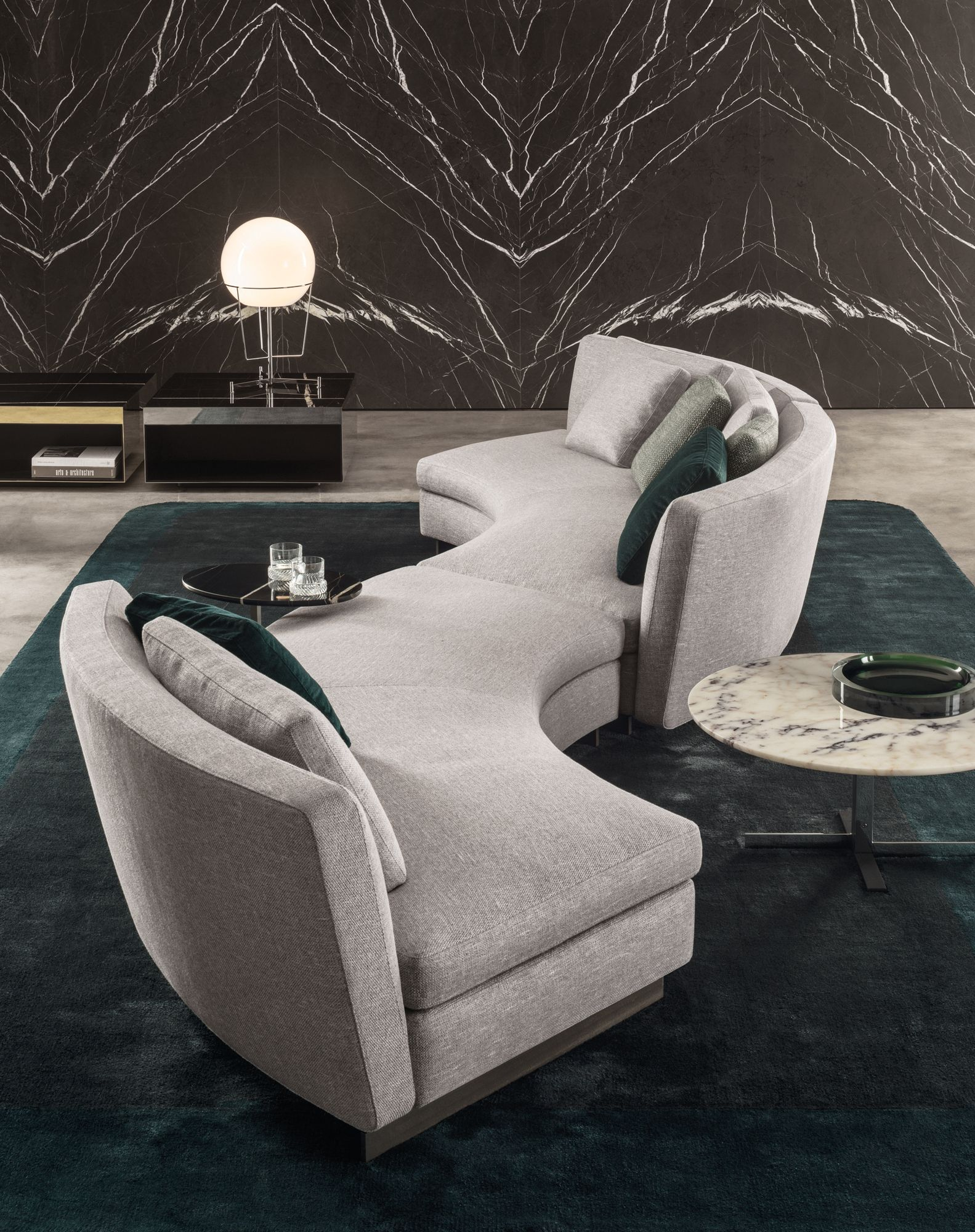 Seymour Seating System by Rodolfo Dordoni for Minotti