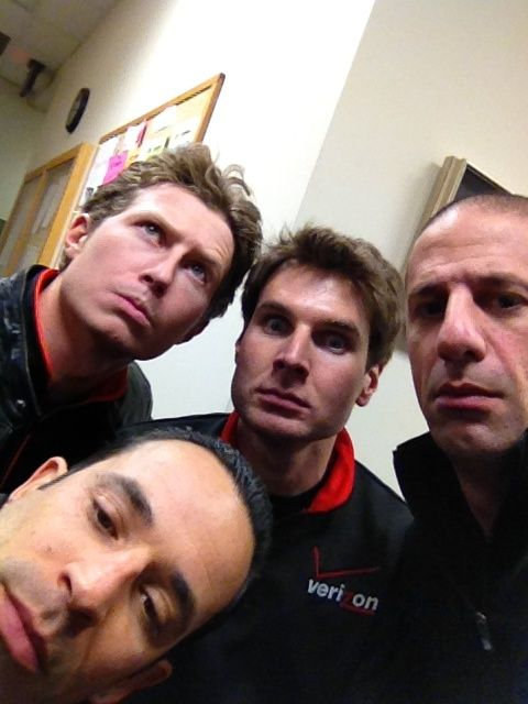 Ryan, Helio, Will and Tony!!  #Indycar Yony what the hell you doing over at Penske. lol