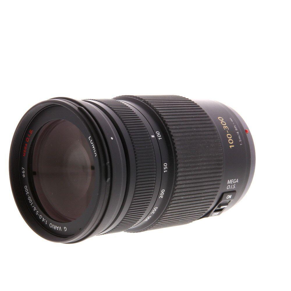 Panasonic Lumix 100 300mm F 4 5 6 G Vario Mega O I S Af Lens For Mft Micro Four Thirds System Black 67 Telephoto Zoom Lens Panasonic Lumix Panasonic
