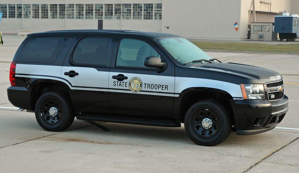 NC Highway Patrol Chevy Tahoe Slicktop North carolina