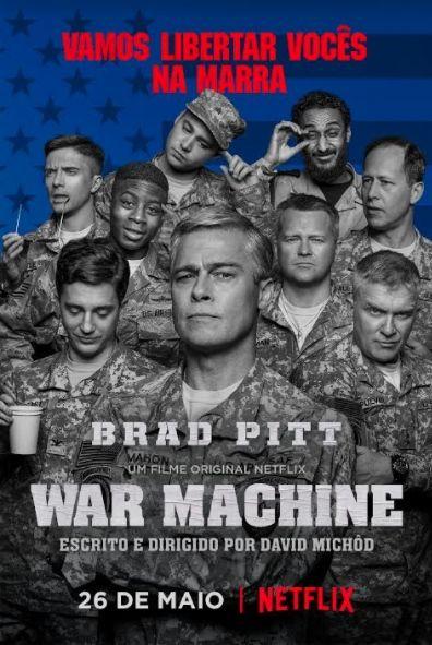 Um filme de David Michôd com Brad Pitt, Topher Grace, RJ Cyler, Scoot McNairy. O general Glen McMahon (Brad Pitt) é um militar respeitado que comanda os norte-americanos na invasão americana ao Afeganistão. Em uma estratégia radi...