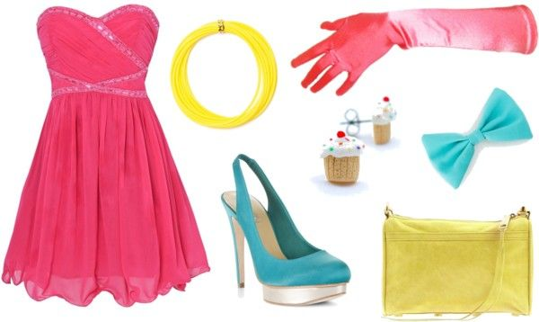 Pinkie Pie (My Little Pony Friendship is Magic) Inspired Outfit