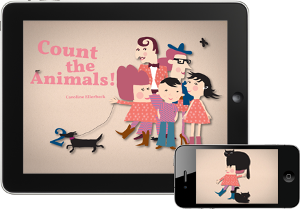 Count the Animals! for iPhone and iPad from Appracadabra. Great travel entertainment for kids.