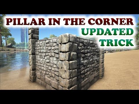 Ark how to place a pillar in the corner building trick update ark how to place a pillar in the corner building trick update malvernweather Gallery