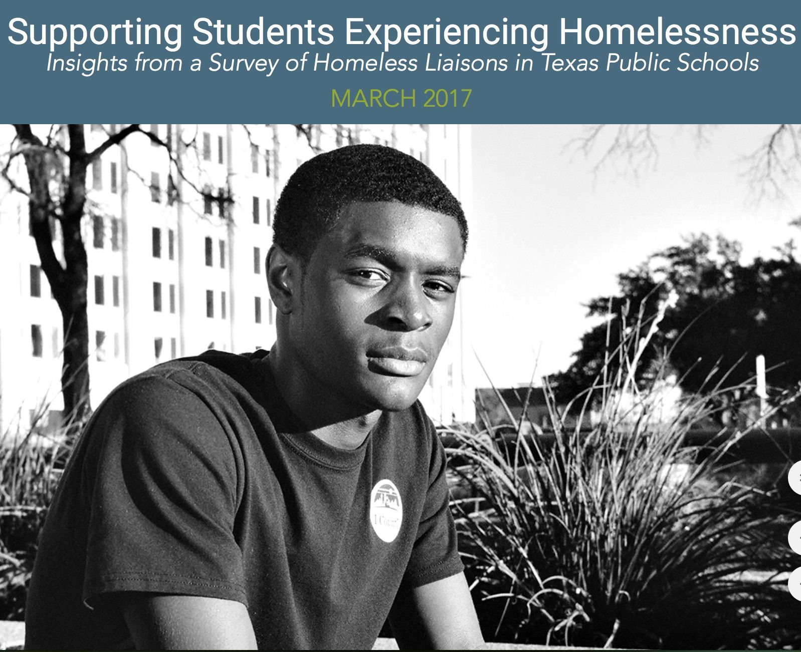 Young Alone And Homeless In The Lone Star State Policy Solutions To End Youth Homelessness Homeless Solutions To Homelessness Young